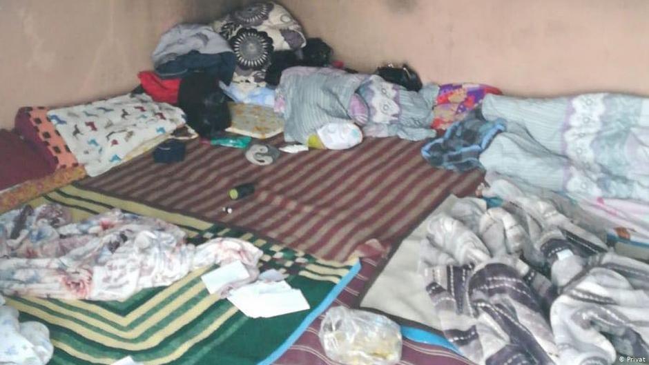 پناهجویان افغان در شهر مرزی ادرنه تحت شرایط بسیار اسفناک بود و باش دارند