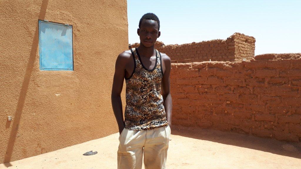 RFI/Bineta Diagne |Mamadou, jeune Malien, espère bientôt traverser le désert et aller en Europe.