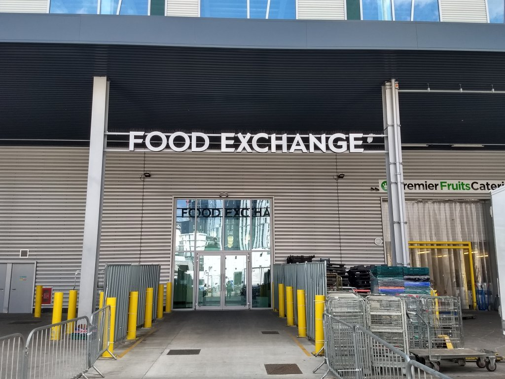A picture of a London Food Exchange which houses a charity providing food for migrants homeless people and those on the poverty line in London  Photo Emma Wallis