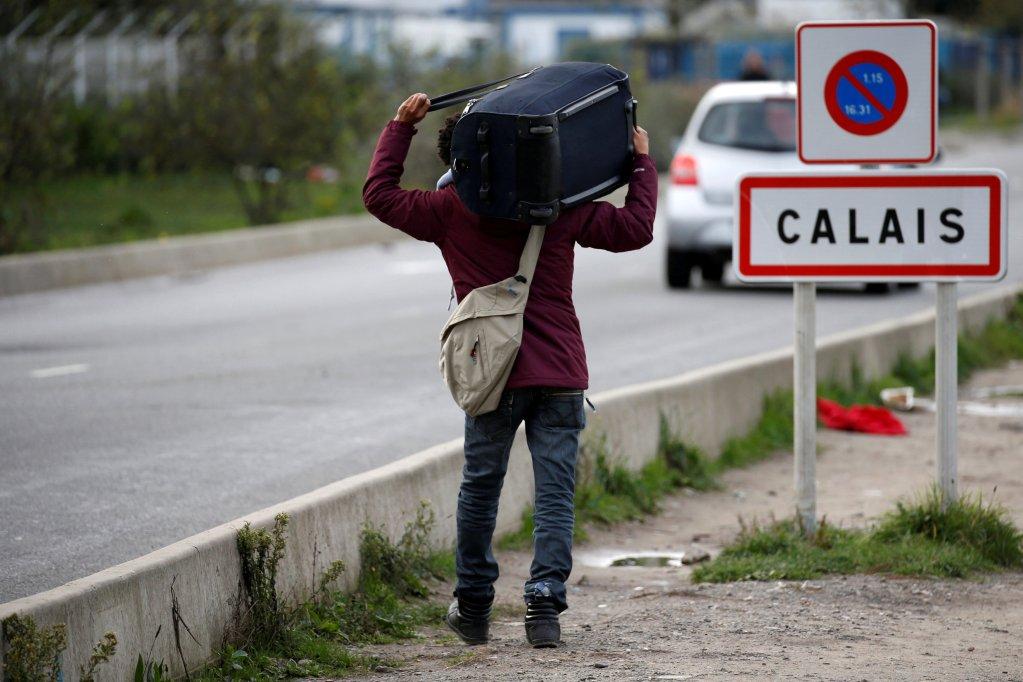 Les migrants de Calais commencent à arriver dans les CAES ouverts par le gouvernement dans le Nord. Crédit : Reuters