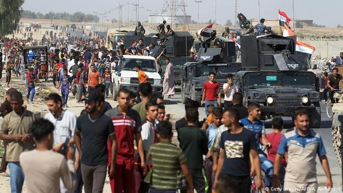 تثير سيطرة القوات العراقية على كركوك  مخاوف بعض السكان الكرد في المدينة