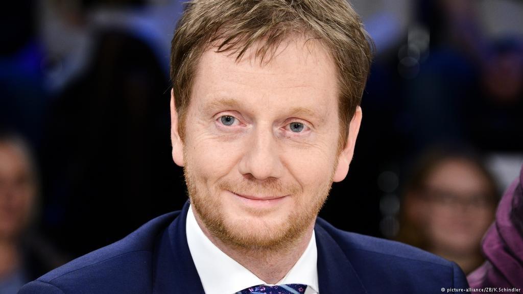 Saxony's prime minister Michael Kretschmer