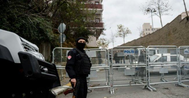 أ ف ب/ أرشيف  شرطي تركي في إسطنبول