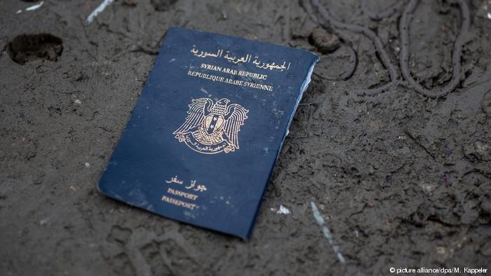 Syrian passport  Photo Picture-alliancedpaMKappeler