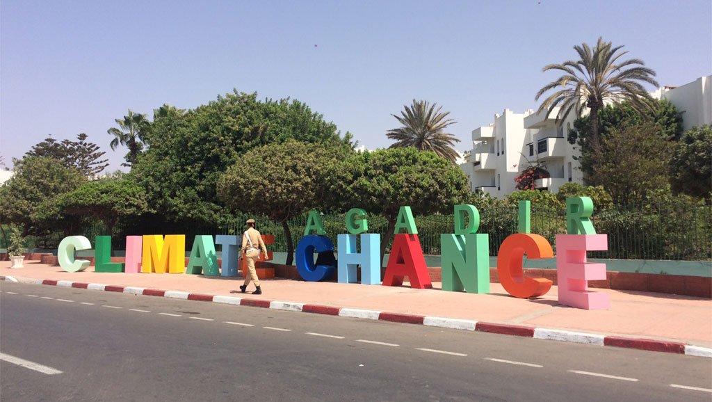 © RFI/Anne-Cécile Bras  Climate Chance, 2017, Agadir (Maroc).