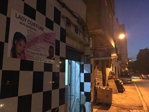 Jeanne-dArc a ouvert son salon de coiffure afro il y a quelques mois  Tunis Crdit  InfoMigrants