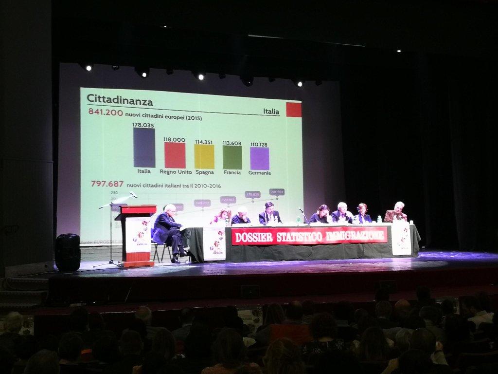 presentation of the dossier in Rome. | Credit: Stefano Intreccialagli/ANSA
