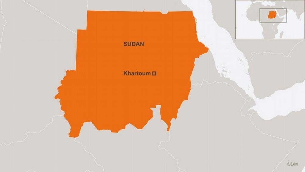 خريطة لاسودان