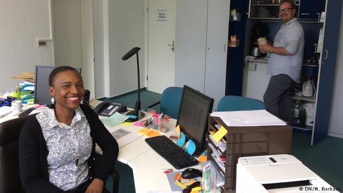 Les deux travailleurs sociaux de l'African Hope Center sont orginaires du Zimbabwe et d'Allemagne