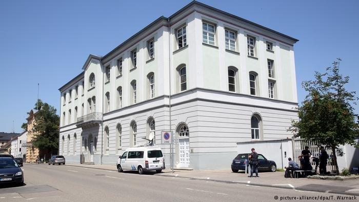 picture-alliance/dpa/T. Warnack  المحكمة الإدارية في مدينة زيغمارنغن جنوب ألمانيا