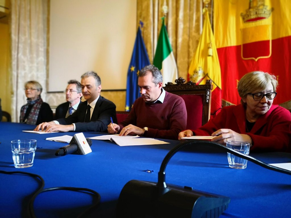 The Naples town council oversaw the creation of the memorandum of understanding | Credit: ANSA