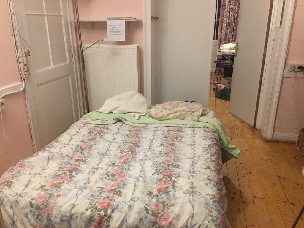 غرفة خصصتها السيدة نيكو لاستقبال المهاجرين