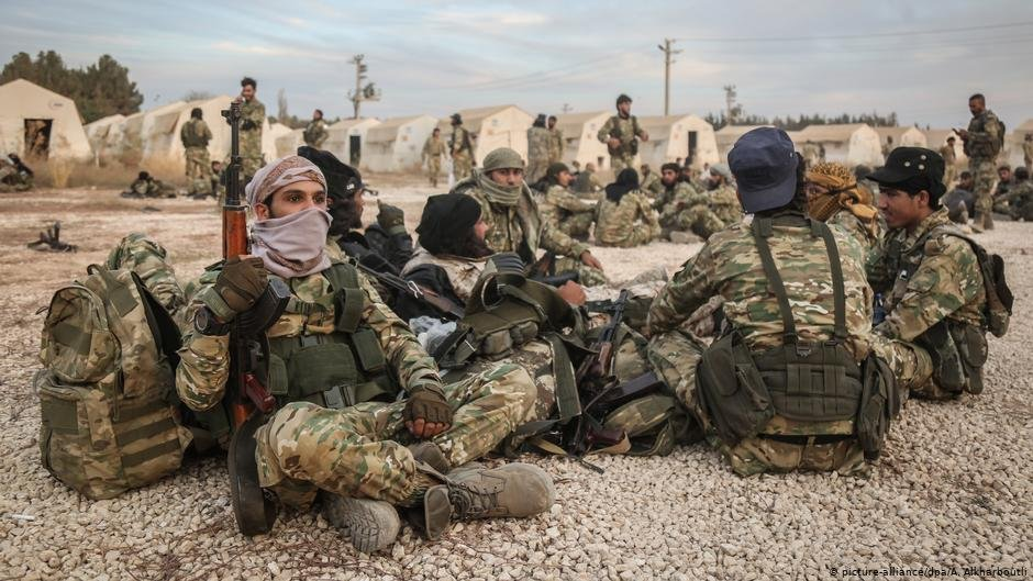 Turkeys military operation in northern Syria was criticized by European NATO allies  Photo Picturea-alliancedpa