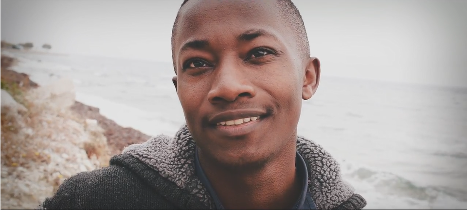 Joseph Baruku dreams of setting up his own NGO one day to help LGBT refugees  Source Safe Place International Video screenshot