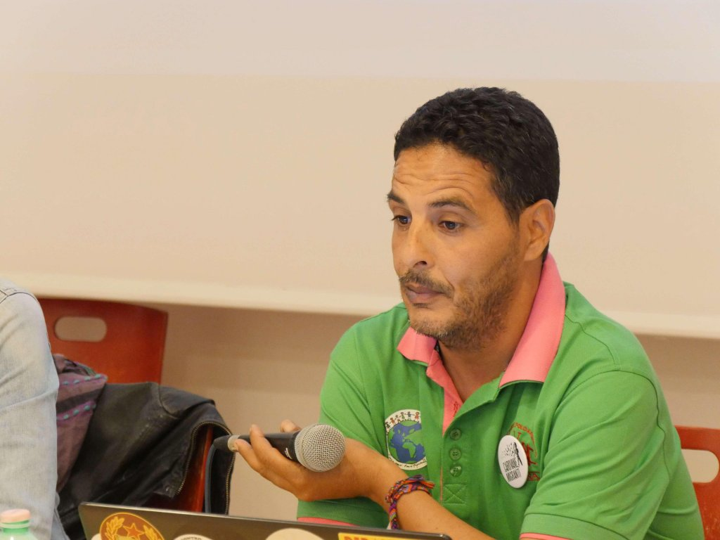 Imed Soltani, chairman of La Terre Pour Tous / ANSA