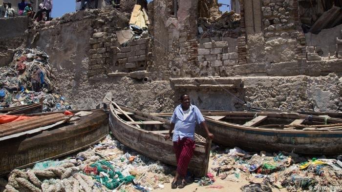 Somali refugee Ali Hassan Suufi | Phot: DW/B.Rühl
