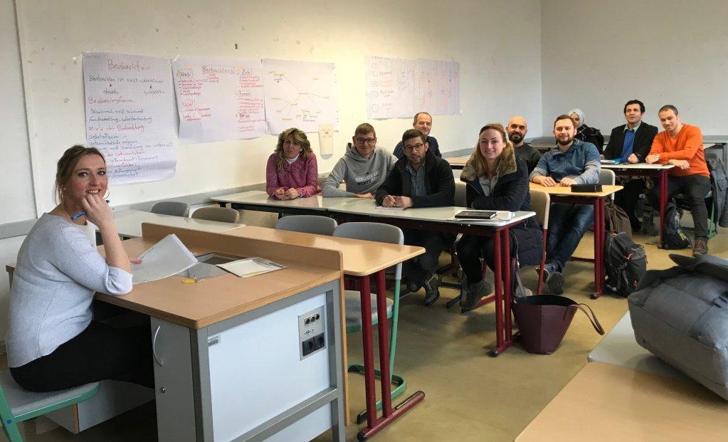 برنامج تأهيل المدرسين المهاجرين في جامعة  بوتسدام