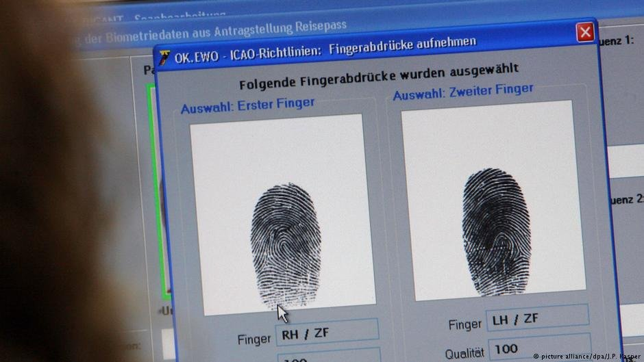 The goal is a complete biometric and linguistic ID check of refugees