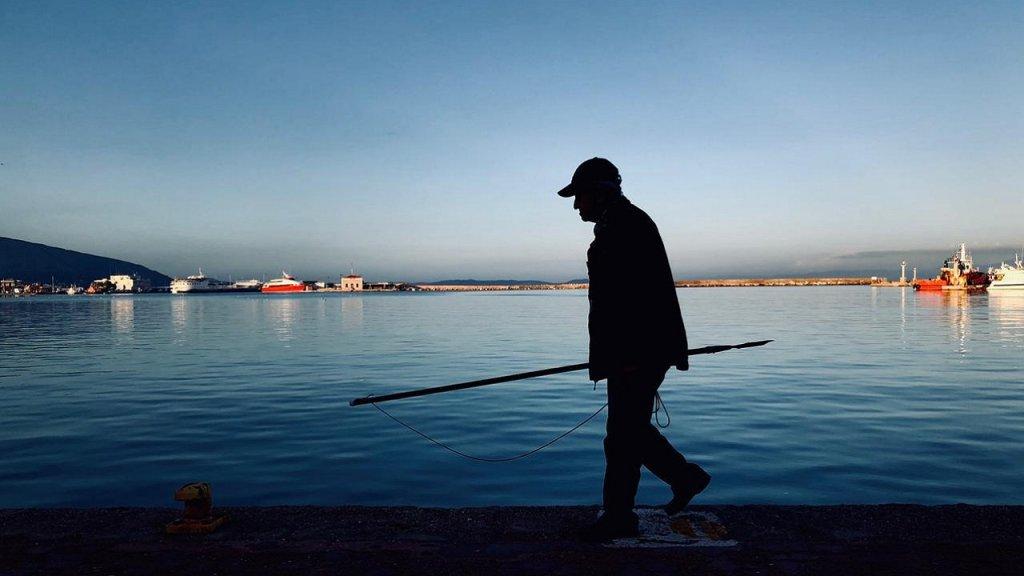 آخر صورة التقطها طارق في خيوس، قبل التوجه إلى أثينا. المصدر/ طارق أرسل الصورة