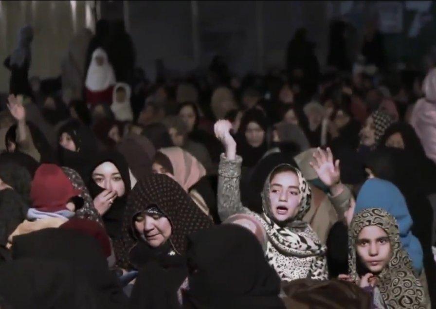 د هزاره ګانو مظاهرې د تاو تریخوالی پر ضد / انځور: طاهر علي
