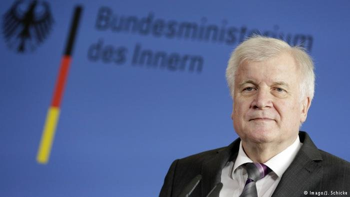 German Interior Minister Horst Seehofer