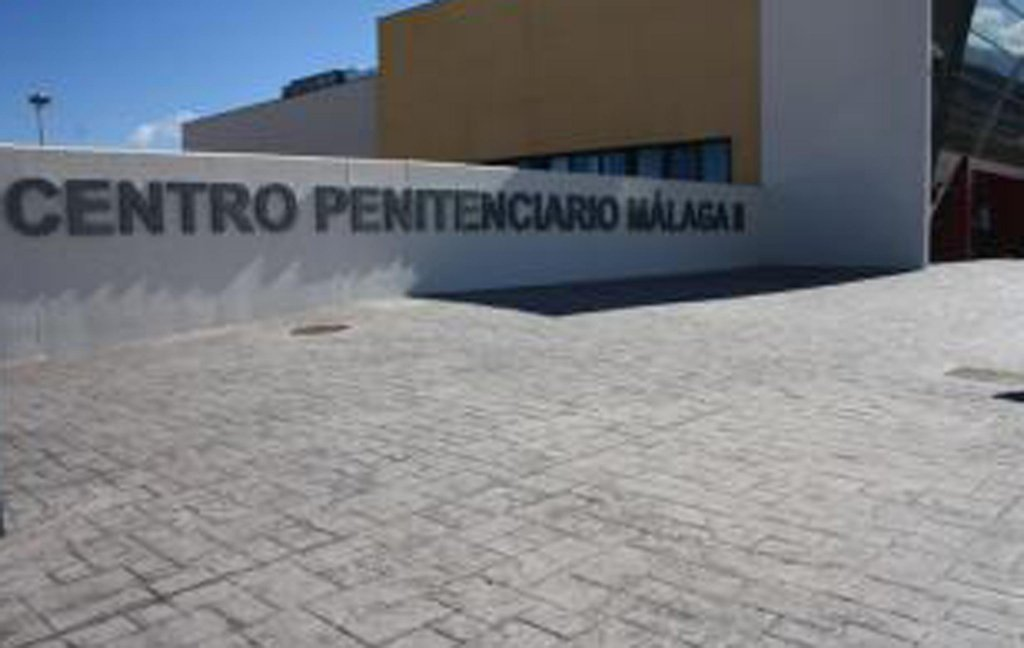 The picture shows the controversial prison of Archidona (Malaga), a former jail that was reconverted some two months ago into a temporary detention center for migrants