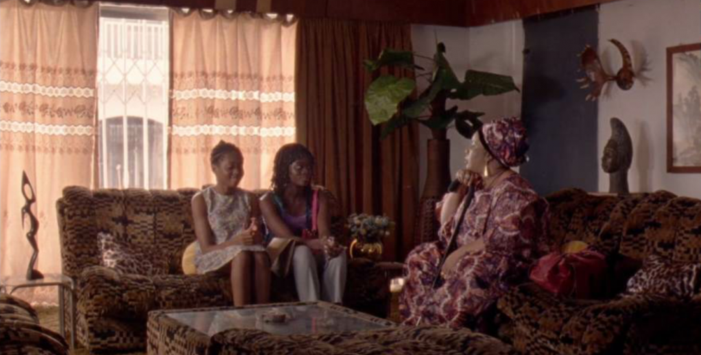 Rosa and her sister Grace go and visit Mama Esther in the hope of reaching Italy  Source Screenshot from Eyimofe a film by Arie and Chuko Esiri