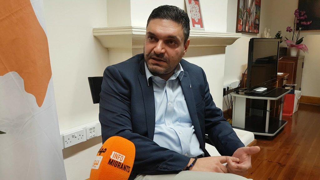 Constantinos Petrides ministre de lIntrieur chypriote Crdit  InfoMigrants