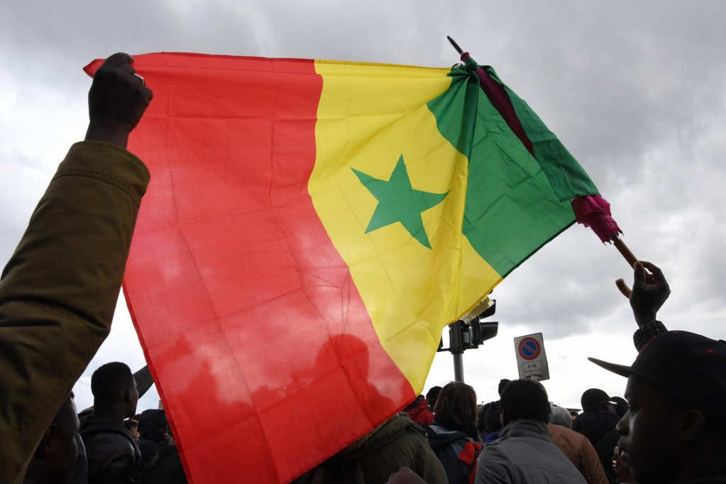 ansa / مظاهرة للمهاجرين السنغاليين في مدينة فلورنسا الإيطالية. المصدر: أنسا/ كلاوديو جيوفاني.