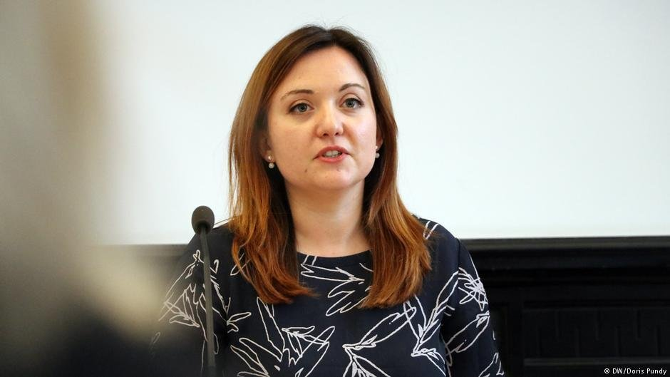 Federica Toscano de l'ONG Missing Children Europe