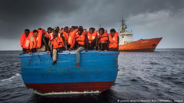 NGOs are incensed at being criticized for saving people from drowning