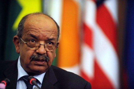 AFP PHOTO / FAROUK BATICHE |Le ministre algérien des Affaires étrangères, Abdelkader Messahel, le 7 septembre 2011, à Alger.
