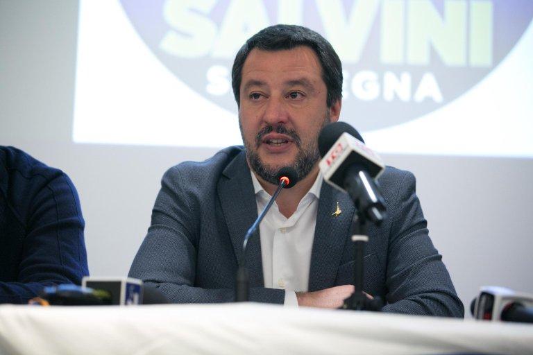 Italian Interior Minister Matteo Salvini | Credit ANSA