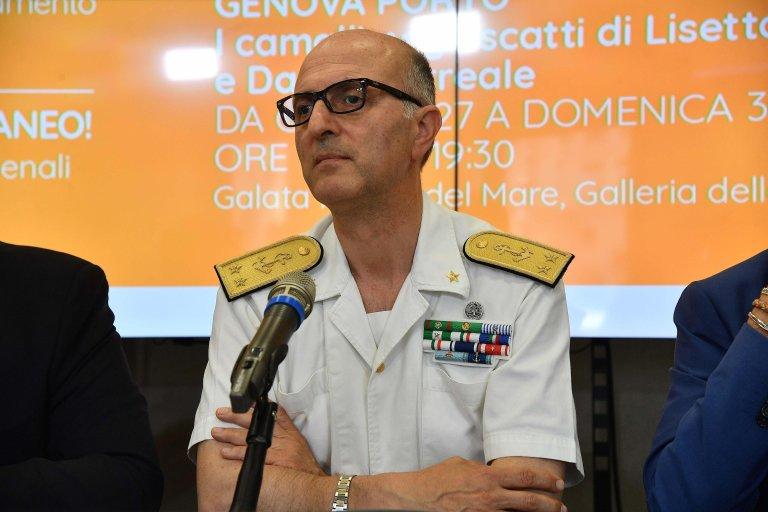 The new Italian Coast Guard General Commander, Admiral Nicola Carlone   Photo: ANSA