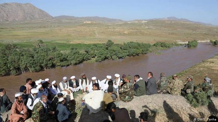 هیات اعزامی کابل در منطقه وقوع رویداد در مرز با ایران