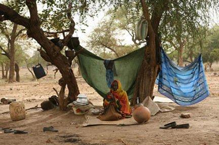 (Photo : UNHCR/H.Caux) |Les réfugiés soudanais sont massés à l'est du Tchad, à la frontière avec le Darfour.