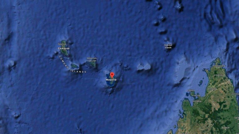 Mayotte est le 101e département français dans l'Océan Indien. Crédit : DR