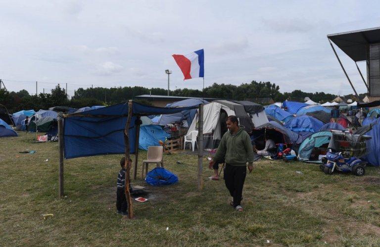 مخيمات عشوائية في غراند سانت/ مهدي شبيل