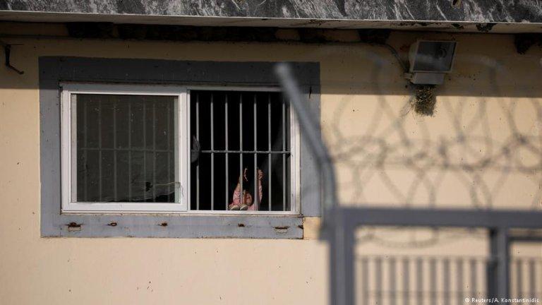 Les conditions de vie dans le centre de Fylakio sont épouvantables, selon les ONG. Crédit : Reuters