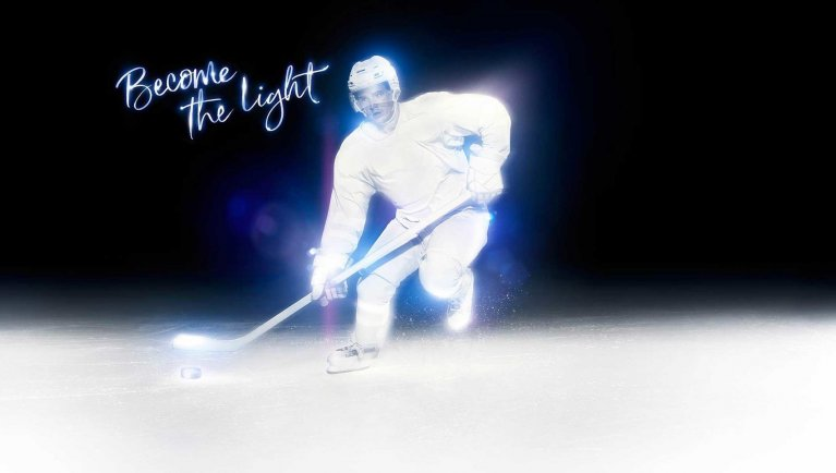 'Become the Light' campaign Credit: International Olympic Committee