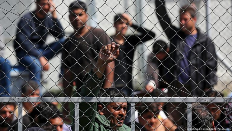 The living conditions of migrants and refugees in Greece are regarded as below international standards, not only in prisons | Photo: Picture-alliance/dpa/O. Panagiotou