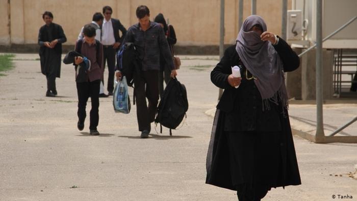 تصویر از آرشیف: مهاجران اخراج شده افغان از ایران