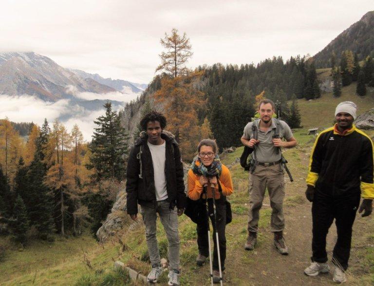 Hiking in Berchtesgaden National Park Copyright: Anna Schober