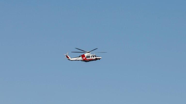Une femme a accouché dans un hélicoptère au dessus de la Sicile. Crédit : Reuters