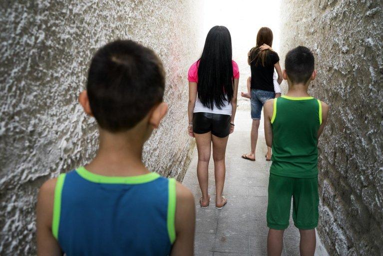 Children of women staying in an anti-violence center | Photo: ANSA/Save the Children/Riccardo Venturi