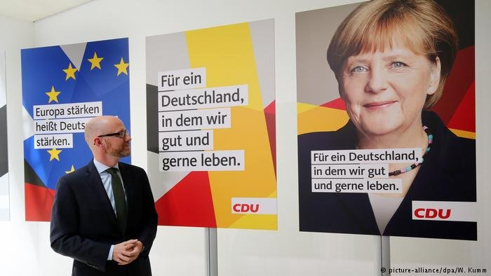 Electoral posters in Germany