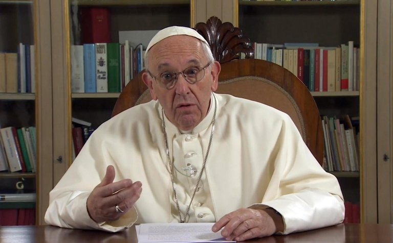 ansa/ البابا فرنسيس