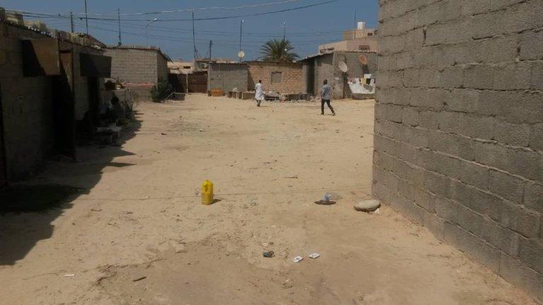 Ibrahima dit avoir été séquestré par un Libyen jusqu'au vendredi 21 août, dans la ville de Zouara, en Libye, en compagnie de 74 autres migrants.  Credit : DR