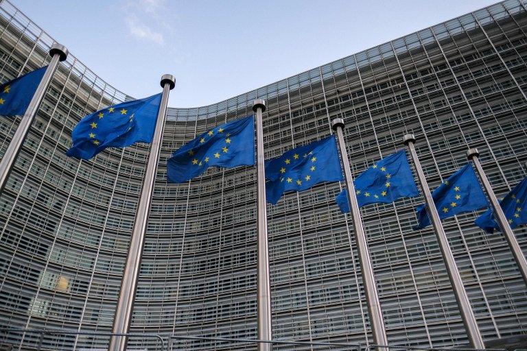 The European Commission in Brussels, Belgium   Photo: EPA/Julian Warnard