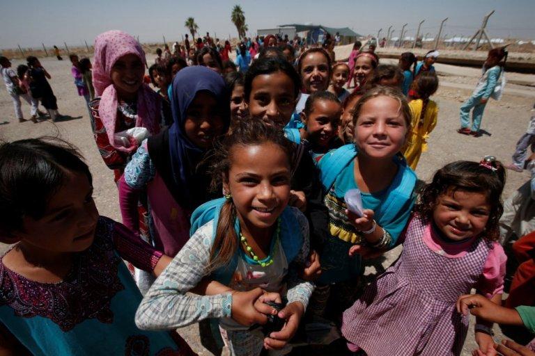 عراق کې بې ځایه شوي ماشومان، رویترز